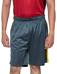 Acetone Solid Men's Running Shorts(USH2_Green_32)