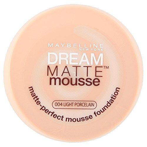 Maybelline Dream Matte Mousse Foundation - 18 ml, 004 Light Porcelain