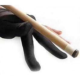 XuBa guanto professionale biliardo snooker mano sinistra in lycra di guanto a dita