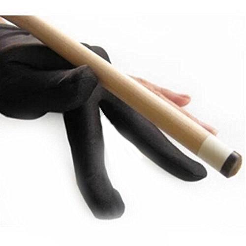 Leoie Professional 3 Finger Billiard Glove Left Hands Lycra Snooker Billiard Pool Cue Accessory Glove