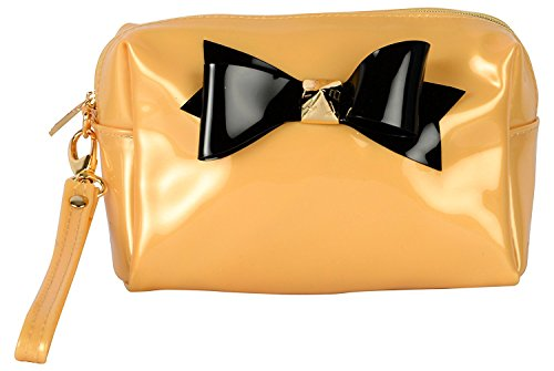 lavu&me Women's Clutch (Gold, LE163C)