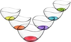 LAV 6tlg Glasschalen