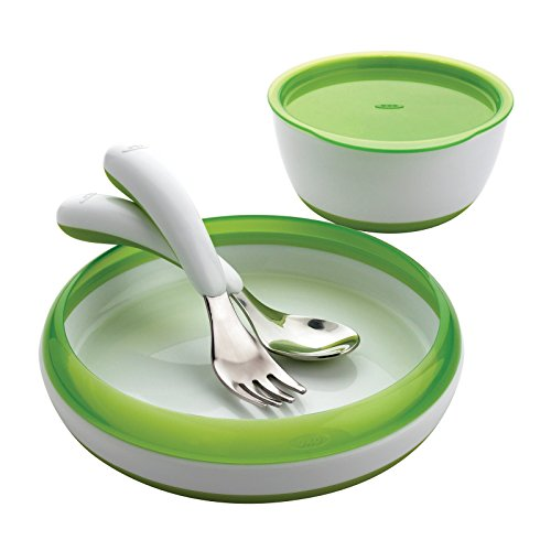 oxo-tot-4-piece-feeding-set-green