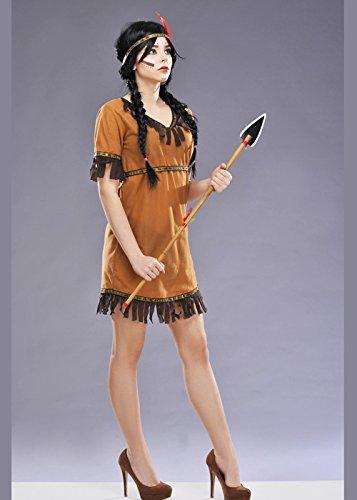 Damen Native Indian Maiden Kostüm Small (UK 8-10)