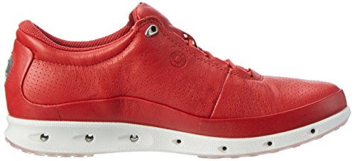 Ecco Cool, Sneakers Basses Femme Rouge (1046Tomato)
