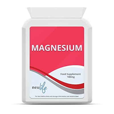 Magnesium 100mg - 60 Tablets from Neulife Health & Fitness Supplements