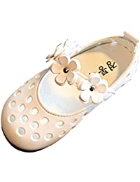 cb36073b1f588 Voberry® Bébé Filles Mary Jane Chaussures D Été Mode Sandales Chaussures  Casual Chaussures Sneaker Anti-Dérapant Semelle Souple…