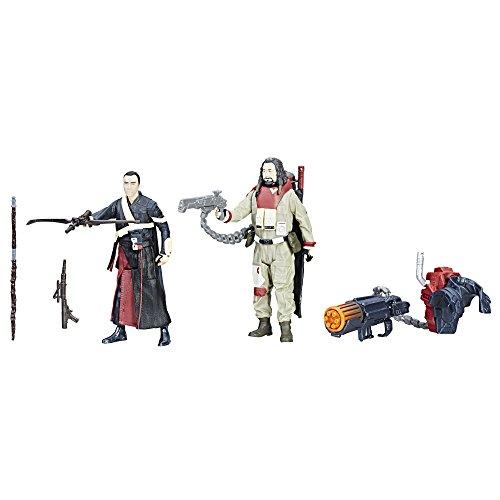 Hasbro Star Wars Force Link Chirrut Imwe & Baze Malbus 2-Pack - Kits de Figuras de Juguete para niños (4 año(s),, Niño/niña, 99 año(s), Dibujos Animados, Acción / Aventura)