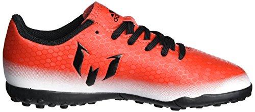 adidas Messi 16.4 Tf J, Chaussures de Football Entrainement garçon Rouge (Red/core Black/ftwr White)
