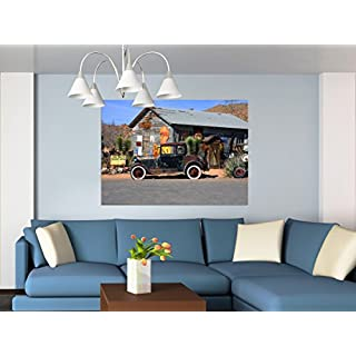 AG DESIGN Photo Wall Mural - Non woven - Old Mobile - Giant Wall Poster, 60x 0 cm/63x43- Part - Ftnxxl 2604, Multi-Colour, 160 x 110 cm