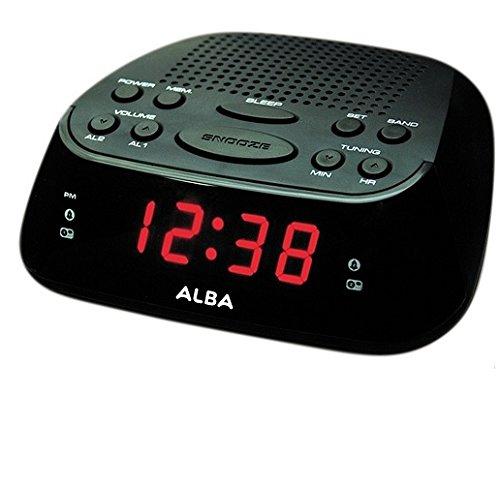 ALBA Uhr Radio.