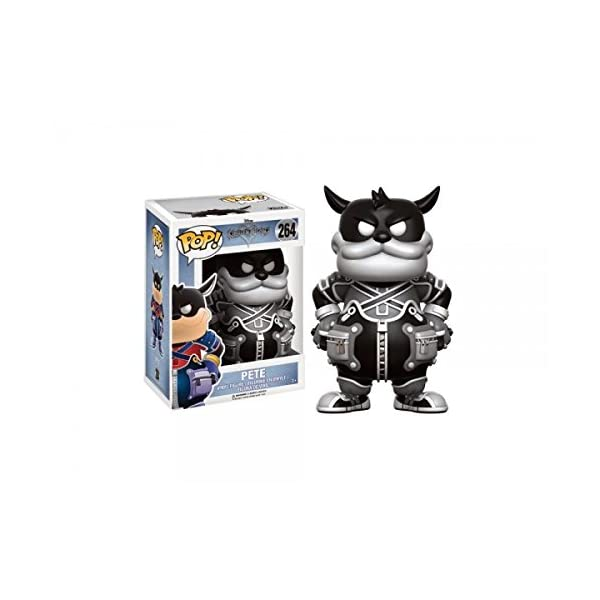 Funko Pop Pete Blanco y Negro (Kingdom Hearts 264) Funko Pop Kingdom Hearts