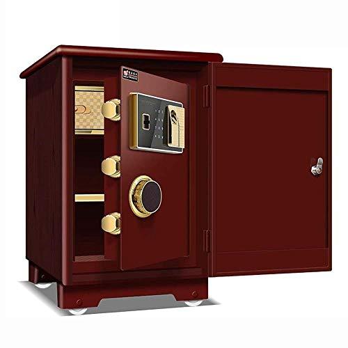 XIN Huellas dactilares contraseña segura, moderna simplicidad incombustible pequeña caja de noche...