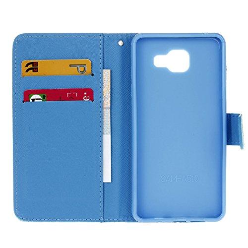 Ukayfe Portafoglio Flip Case Cover con chiusura magnetica per iPhone 6/6S plus in pelle - Elegante Bookstyle Custodia di alta qualità Con Stilo Penna-(Con cordino)pinguino (Con cordino)gabbiano