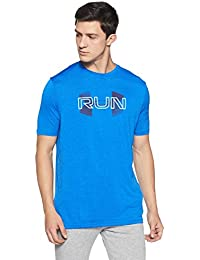 Under Armour Run Overlap Twist Short Sleeve Men's Round Neck T-Shirt