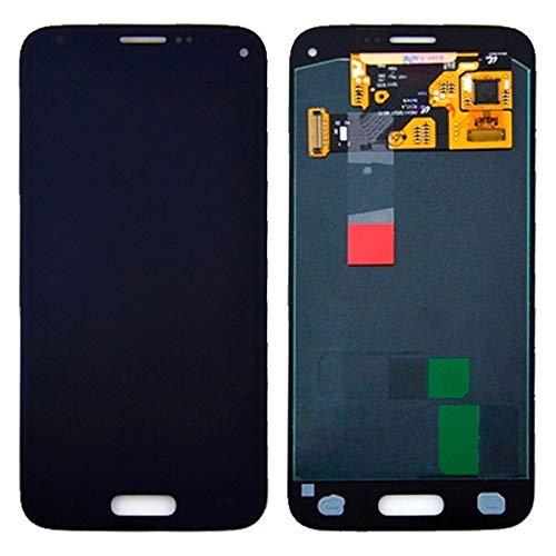 DELANSHI Handy-Ersatzteile IPartsBuy for Samsung Galaxy S5 Mini / G800 LCD + Touchscreen Digitizer Assembly Telefon Ersatzteile (Farbe : Schwarz)