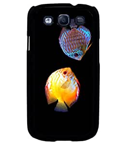 printtech Colored Fish Back Case Cover for Samsung Galaxy S3::Samsung Galaxy S3 i9300
