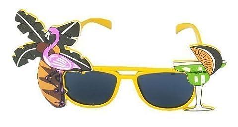 Henbrandt Flamingo Glasses Yellow