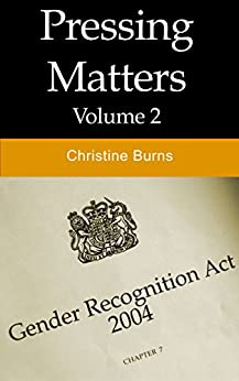 Pressing Matters (Vol 2) by [Burns, Christine]
