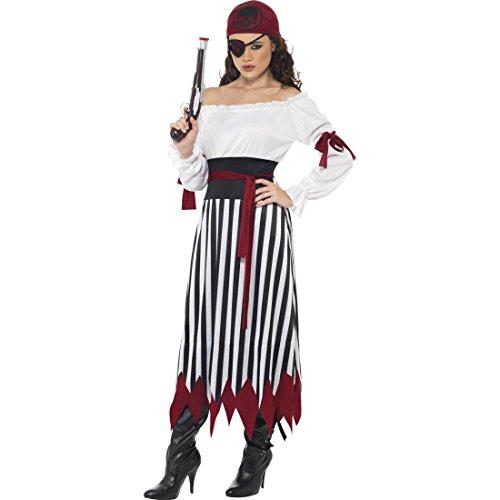 Piratin Kostüm Piratenbraut Kleid M 40/42 Piratenkostüm Damen Piraten Kleid Piratenkleid Piratin Kostümierung