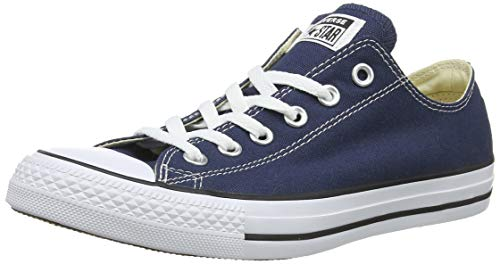 Converse Unisex-Erwachsene Chuck Taylor All Star-Ox Low-Top Sneakers, Blau (Navy), 37 EU