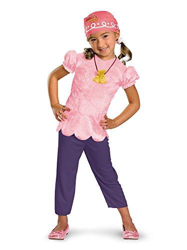 Mädchen Disney 's Jake und die Nimmerland Piraten Klassische Izzy - Neverland Izzy Jake Die Und