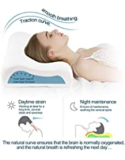 Asign Memory Foam Cervical Pillow Contour Medical Pillow for Sleeping Orthopedic Pillows for Neck Back Pain Relief 1 pcs