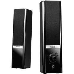 Hercules 2.0 Gloss (2.0 Lautsprecher, 8 W, Lautstärkeregler, Kopfhörereingang)
