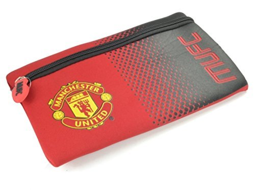 footballsouvenirs Manchester United F.C Fade Design Flat Pencil Case
