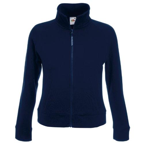 Fruit of the Loom - Sweat-shirt -  Femme Bleu - Deep Navy