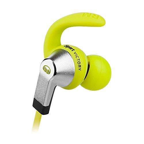 Monster iSport - Casque Sport Audio - Victory In-Ear Headphones - Isolation totale des bruits extérieurs - Couleur Verte