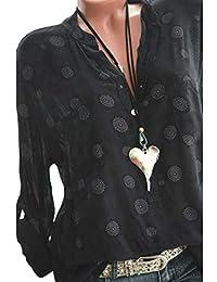4d89a6cbb8b45 Suchergebnis auf Amazon.de für: polka dot bluse - Tops, T-Shirts ...