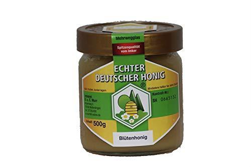 Echter Deutscher Honig, Blütenhonig, 500gr, aus dem Schwarzwald