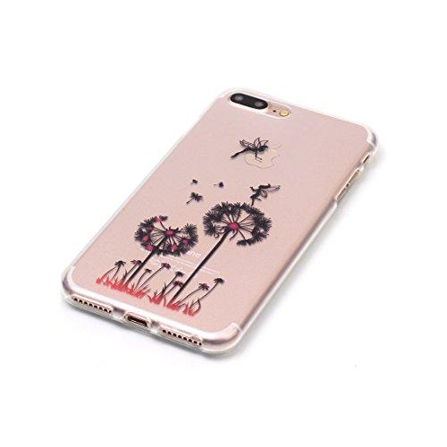 iPhone 7 Custodia,iPhone 7 Case,Patate Torre Eiffel Custodia in TPU Gel Ultra sottile [Trasparente] Custodia protettiva in gomma flessibile case cover para for iPhone 7 4.7 inch colour 15