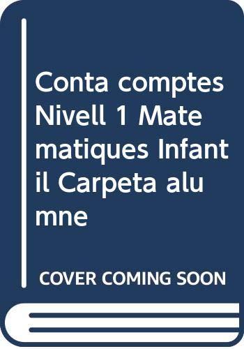 Conta comptes Nivell 1 Matemàtiques Infantil Carpeta alumne (Projecte Conta Comptes)