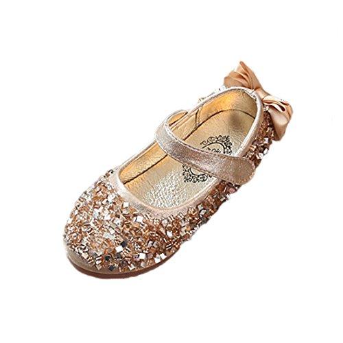 Kostüm Nil Prinzessin - YIBLBOX Mädchen Kinder Schuhe Prinzessin Partei Schuhe Sandalen für Mädchen Kostüm Party Geburtstag