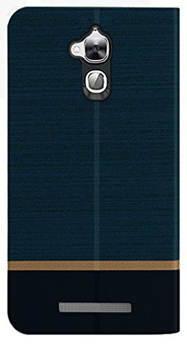 Febelo (TM) Professional Design Video Stand View Perfect Fitting Flip Cover Case for Coolpad Note 5 – Navy Blue Color