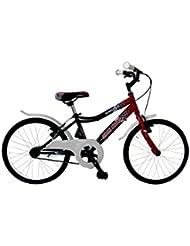 LlNEA GIANNI BUGNO Bicicleta Kids Steel Btt Negro / Rojo