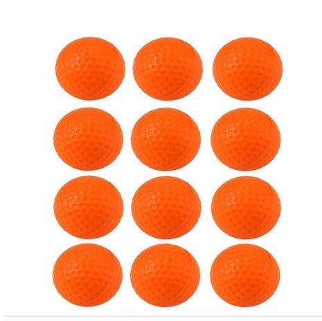 crestgolf Schaumstoff Schwamm Praxis Ball 12Stück pro Beutel, Orange
