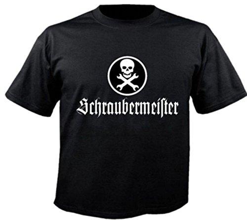 Motiv Fun T-Shirt Schraubermeister Schrauber Kfz Mechatroniker Auto Motiv Nr. 2832 Schwarz
