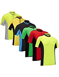 Tenn Mens Coolflo Breathable Short Sleeve Cycling Jersey