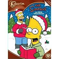 Calendrier de l'avent des chocolats au lait Simpsons (2018)