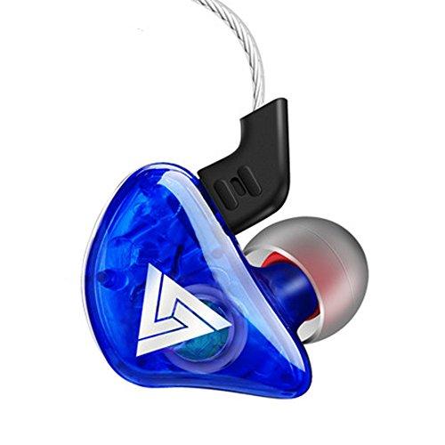 OSYARD Kopfhörer/Ohrhörer/Headphones/Earphones/Earbuds, Ear Headset Stereo Sound Schweißresistent Sportkopfhörer für iPhone, iPad, Samsung, Huawei, HTC und mehr mit 3,5 mm Klinke