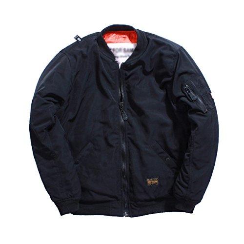 Männer Air Force Flight Suits MA1 Jacken Freizeit Baumwollbekleidung Jacken Baseball (Suit Flight Herren)