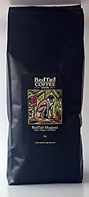 RedTail Mogiana Whole Bean Coffee 1kg - From the Mogiana Valley in Brazil by RedTail Coffee