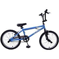 AMMACO FREESTYLER OTTIMO PEDANE PER BICI BMX CON & GYRO 50,80 (20 RUOTE CM, COLORE: BLU