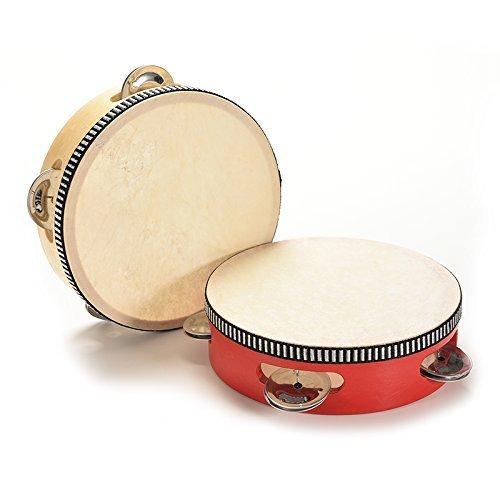 tione-ve Holz musiconel tonembourine Drum ronettles Spielzeug Kinder educonetiononel Spielzeug