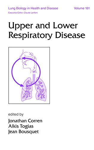 Upper and Lower Respiratory Disease: 181 (Lung Biology in Health and Disease) (Jeans 181)