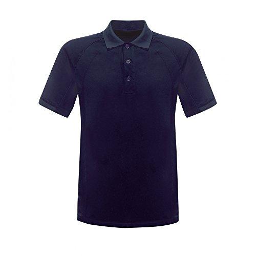 Regatta Hardwear Herren Coolweave Kurzarm Polo Shirt Marineblau