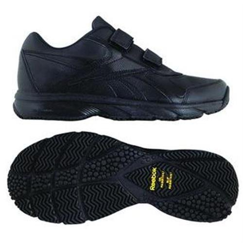 Reebok  WORK 'N CUSHION KC, Chaussures d'athlétisme homme Noir - Noir